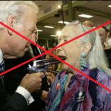 「高齢女性の口に銃口を突っ込むバイデン」はデマ