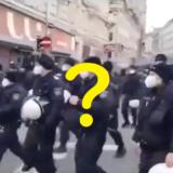 「コロナ政策に抗議するためウィーンの警察がデモに参加した」はデマ